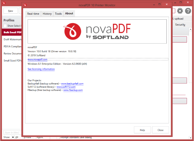 novaPDF Software