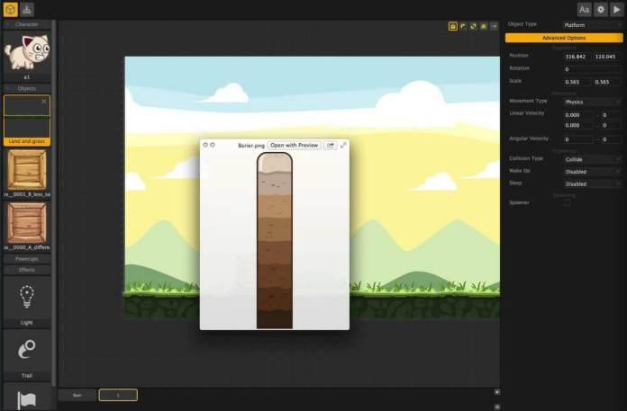 Buildbox New Game Creator