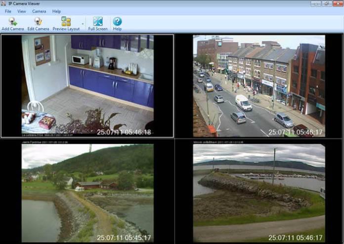 IP Camera Viewer Video