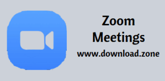 Zoom Meetings Free Download For PC