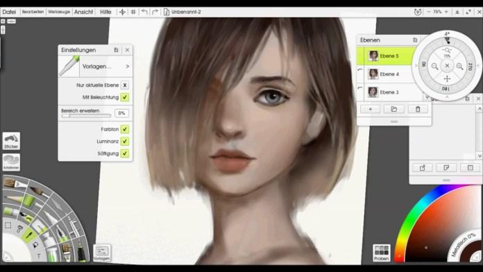 edit image with Artrage Digital Art Studio