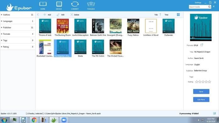 epubor ebooks collection