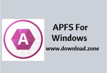 APFS For Windows Software