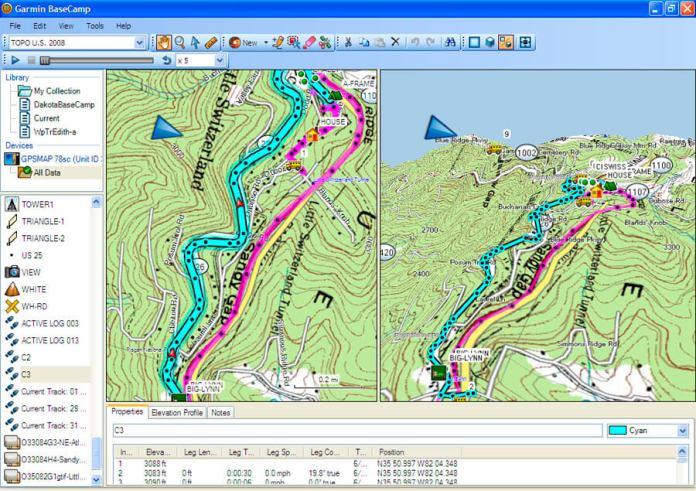 Garmin BaseCamp For Map Viewer Softwre