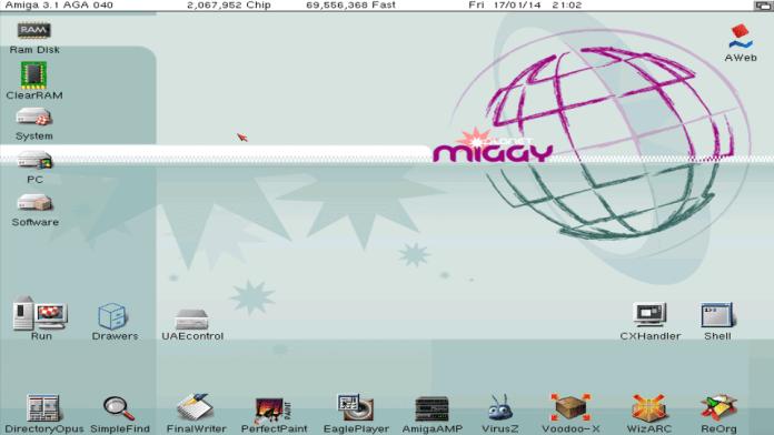 Amiga Emulator For PC