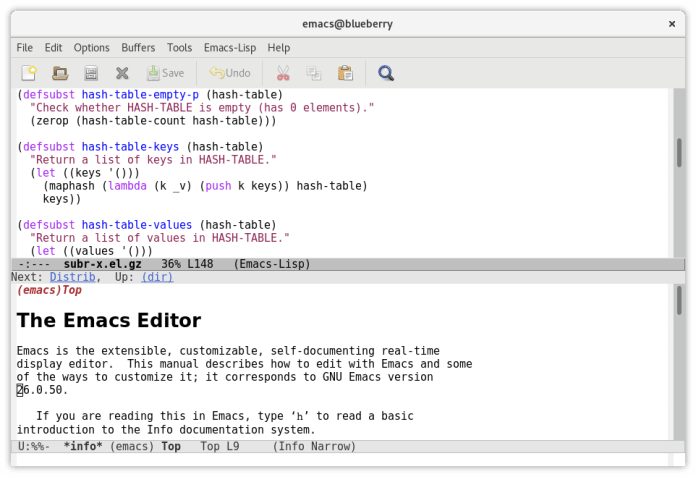 Emacs Text Editor For PC