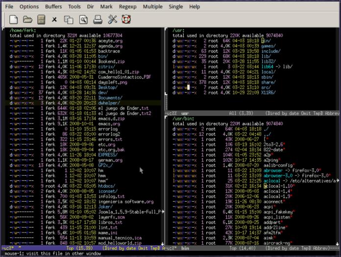 Emacs Text Editor