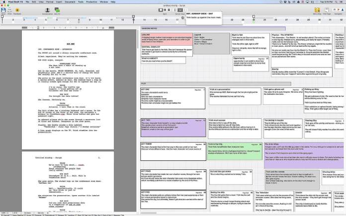 Final Draft To Write Data For Word Processor Software