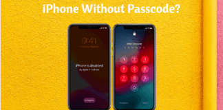 How to unlock your iPhone Without Passcode