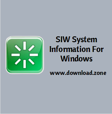 SIW System Information Software For PC