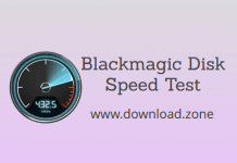 Blackmagic Disk Speed Test for Mac