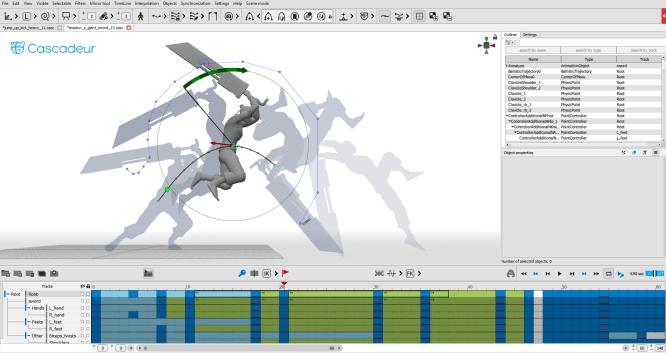 Cascadeur Animation