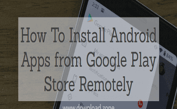 How to installed apps on google play store remotely