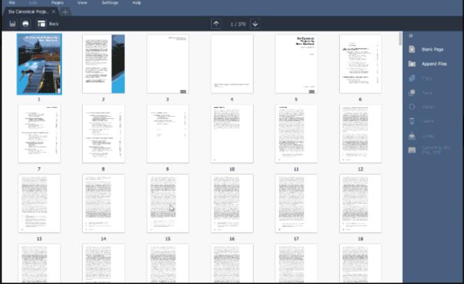 Movavi PDF Pages