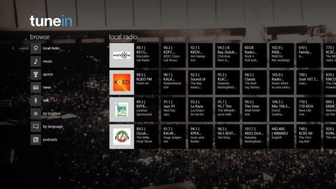 TuneIn Radio Software For PC