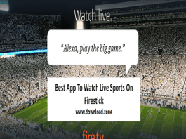 Watch Live Sports On Firestick To Play Games