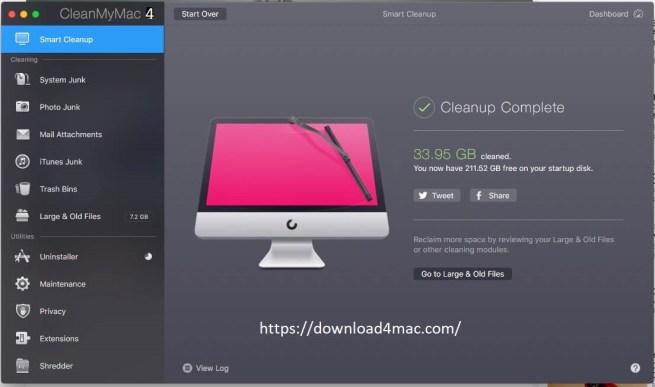 CleanmyMac X 4.6.7 Mac Crack + Activation Code Free Download 2020
