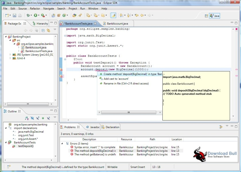 Download Eclipse 3.7 IDE Portable with JDK Free