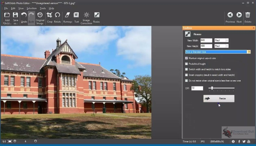 Portable SoftOrbits Photo Editor 3.2 Review