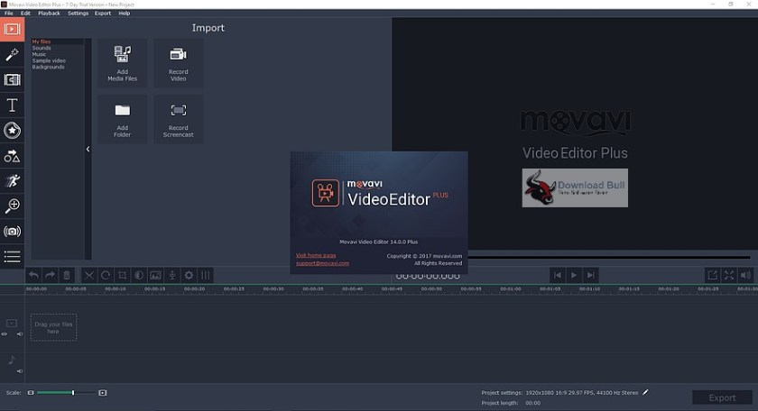 Portable Movavi Video Editor 14.0 Overview (1)