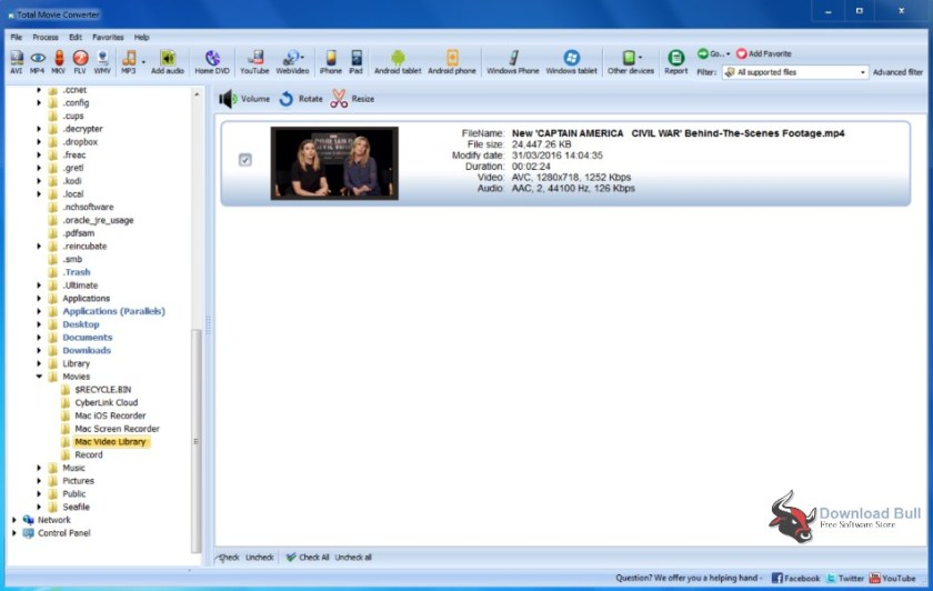 Download Portable CoolUtils Total Movie Converter 4.1 Free