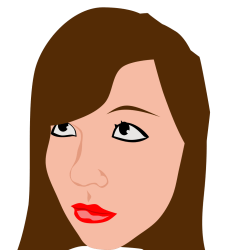 Girl Brown Hair PNG SVG Clip art for Web Download Clip Art PNG Icon Arts