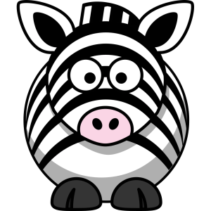 zebra cartoon svg simple clip animals clipart cat arts downloadclipart icon px downloading related tags
