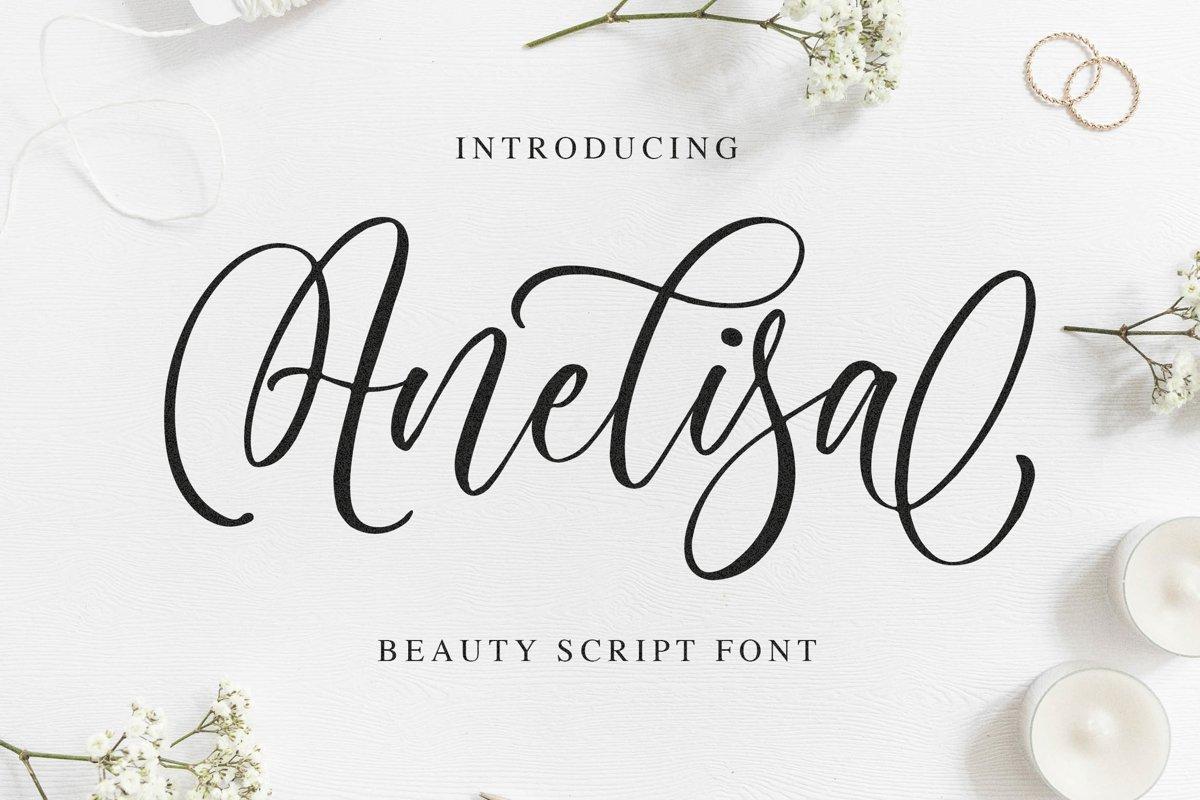 Anelisa-Font