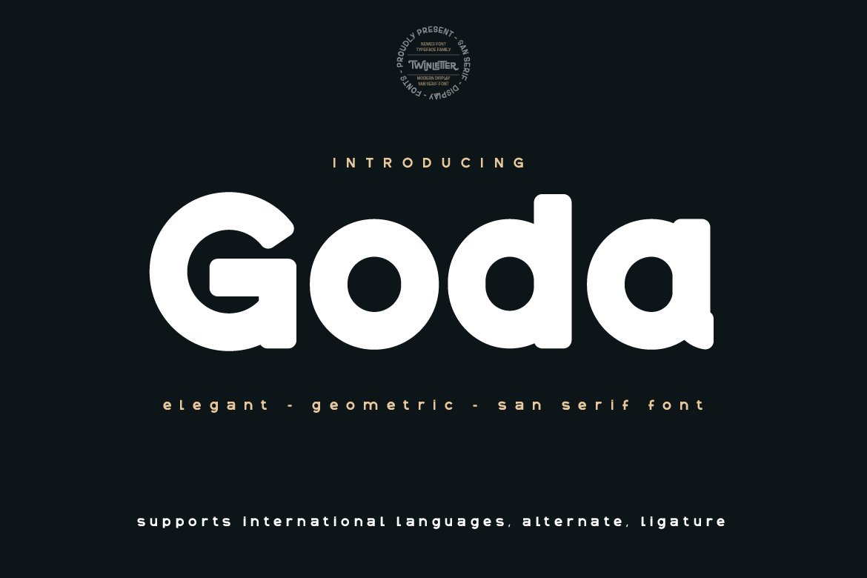 Goda-Font