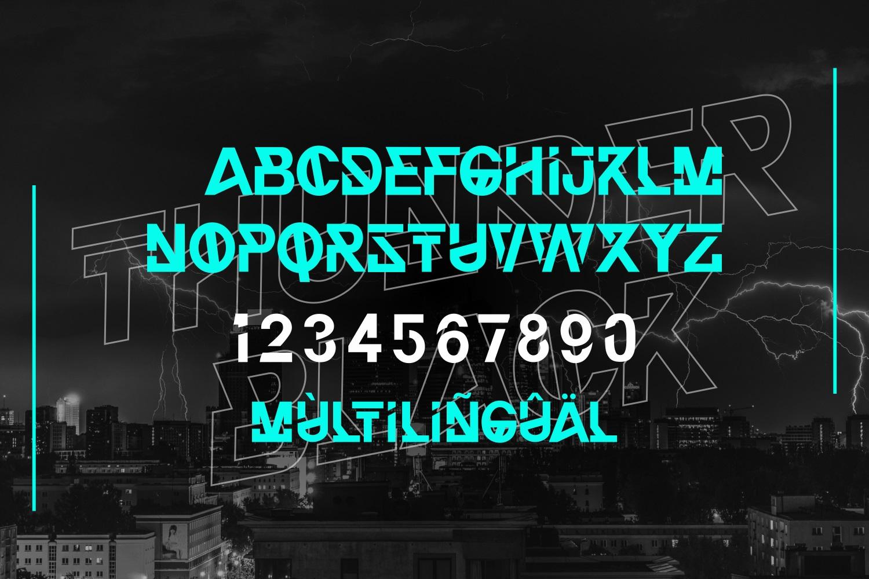 Thunder-Black-Font-3