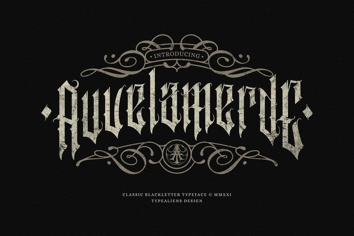 Auvelamerde-Font