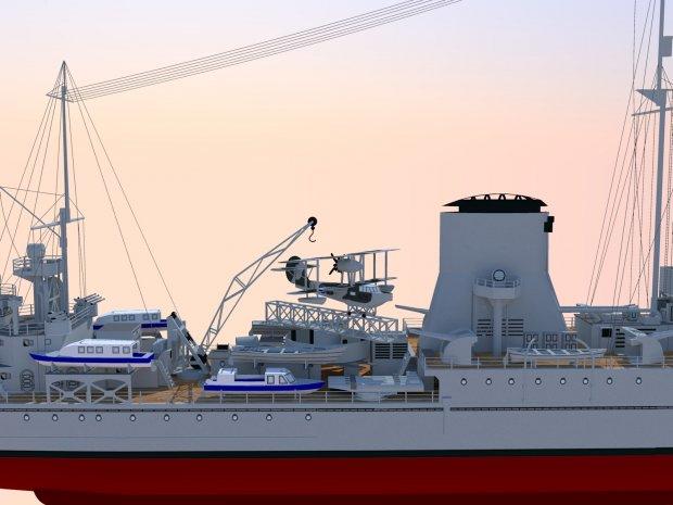 HMS Ajax  Free 3D models