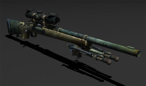 Pistol 3d Wallpaper M24 Free 3d Models