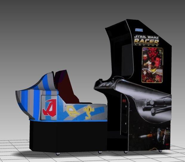 Star Wars Pod Racer Sitdown Arcade Machine