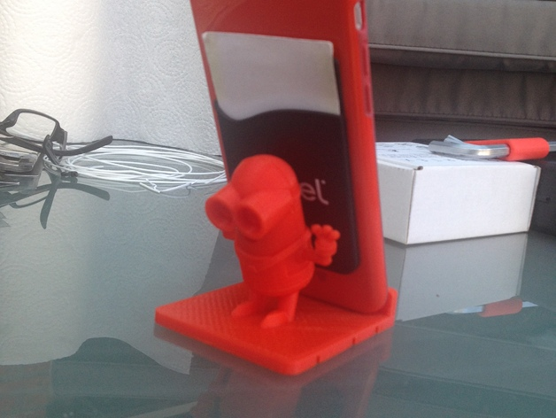 Minion Phone Holder  Free 3D models