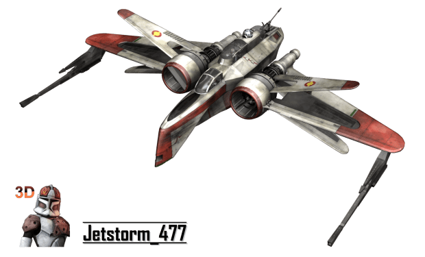 Star Wars ARC170 Fighter  Free 3D models