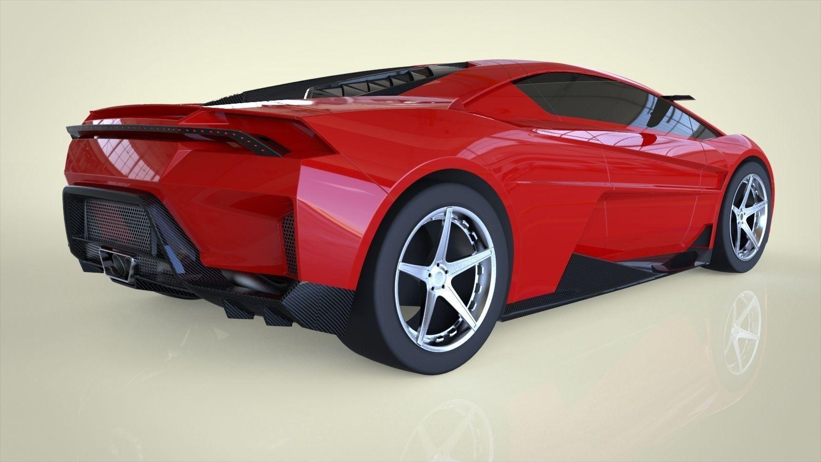 Model Car Obj