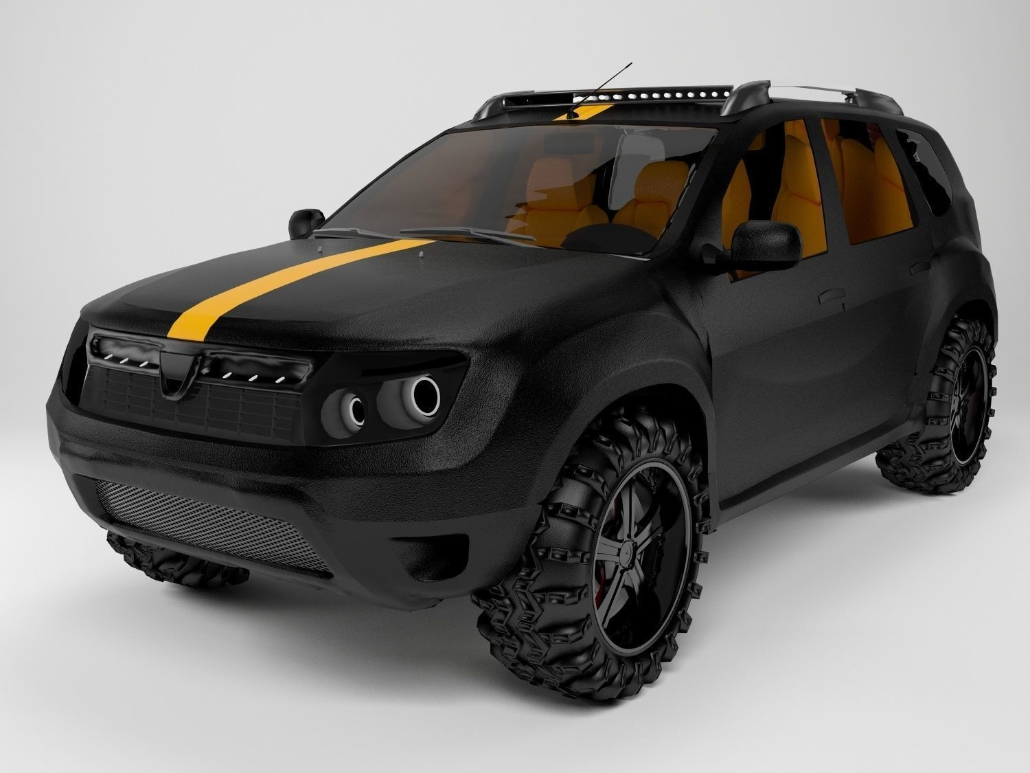 office chair 3d model howard elliott puff covers dacia duster | downloadfree3d.com