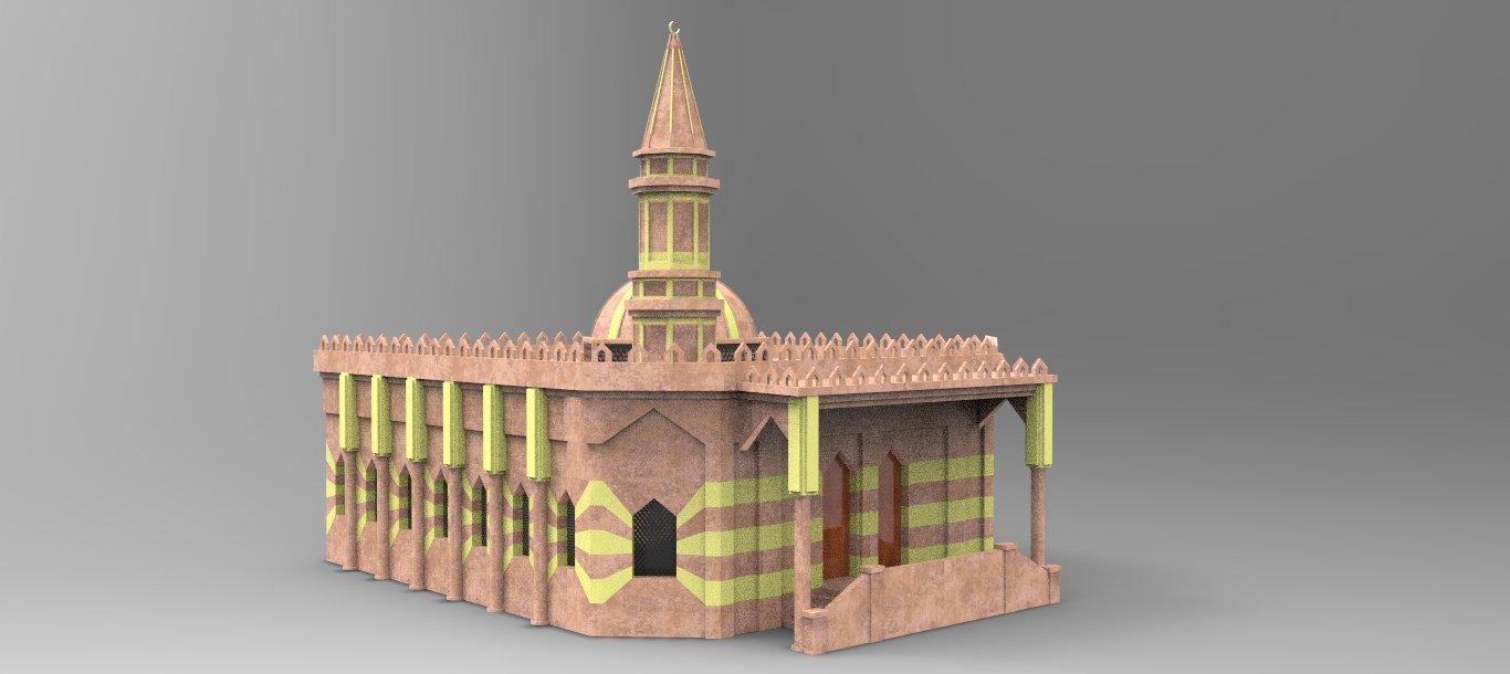 Mosque  Free 3D models