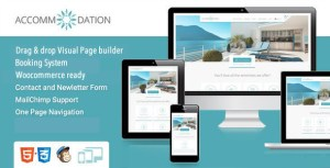 Accommodation v2.4 - Hotel Resorts Booking WordPress Theme