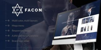 Facon v1.3 - Fashion Responsive Magento 2 Theme Nulled Free