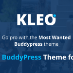 KLEO v4.1.8 – Pro Community Focussed, Multipurpose BuddyPress Theme Nulled Free
