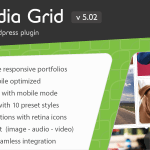 Media Grid v5.02 – WordPress Responsive Portfolio Nulled Free