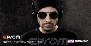 Eprom v1.5.6 - WordPress Music Band & Musician Theme