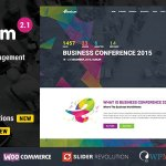 Eventum v2.2 – Conference & Event WordPress Theme Nulled Free