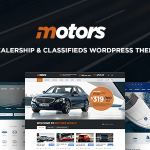 Motors ­v3.3.2 – Automotive, Cars, Vehicle, Boat Dealership & Classifieds WordPress Theme Nulled Free
