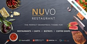 NUVO v6.0.1 - Cafe & Restaurant WordPress Theme - Multiple Restaurant & Bistro Demos Nulled Free