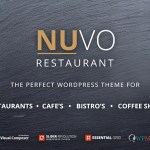 NUVO v6.0.1 – Cafe & Restaurant WordPress Theme – Multiple Restaurant & Bistro Demos Nulled Free