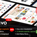 Revo v1.5.2 – Multi-Purpose Responsive WooCommerce Theme Nulled Free