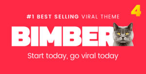 Bimber v4.1.1 - Viral Magazine WordPress Theme Nulled